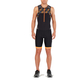 2XU Active Men orange/black